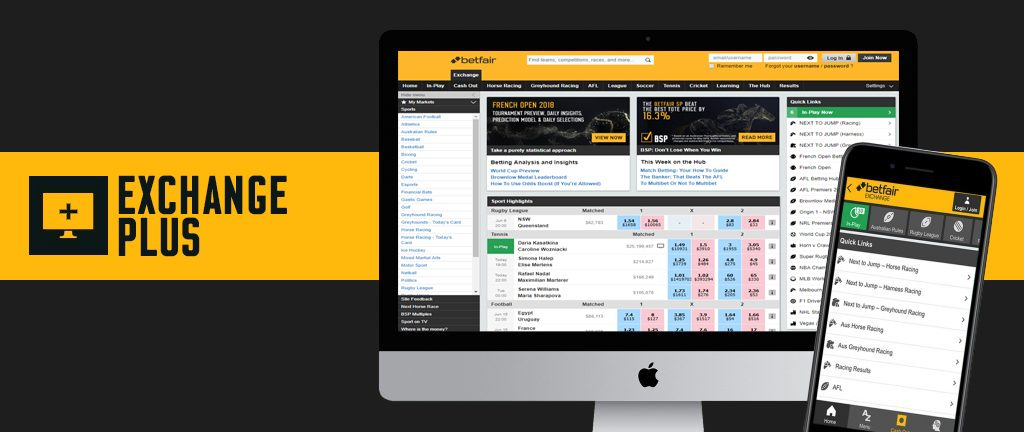 Betfair Exchange Plus