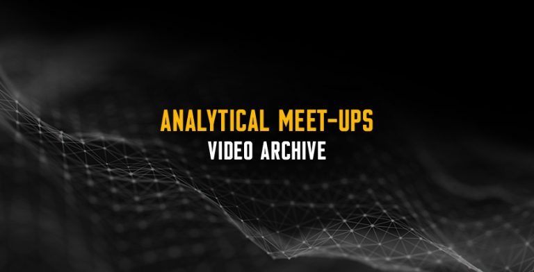 Analytical Meet-ups Archive